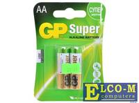 Батарея GP 15A 2шт. Super Alkaline (AA)