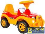 Каталка-машинка Rich Toys Джипик POLICE пластик от 8 месяцев с клаксоном красный ОР105