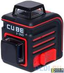 Уровень лазерный ADA Cube 2-360 Basic Edition 20(70)м ±3/10мм/м ±4° лазер2