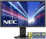 """Монитор 23.8"""" NEC E243WMi черный AH-IPS 1920x1080 250 cd/m^2 5 ms VGA DVI DisplayPort Аудио"""