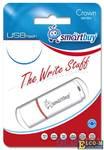 USB флешка Smartbuy Crown 64Gb White (SB64GBCRW-W)