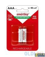Аккумулятор Smartbuy SBBR-3A02BL950 AAA 2 шт
