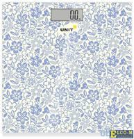 Весы напольные электронные UNIT UBS-2051 (Цвет - Сизый)