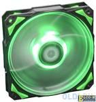 Вентилятор ID-Cooling PL-12025-G Green LED/PWM
