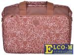 "Сумка для ноутбука Continent CC-032 Brown до 15,6"" (коричневый, полиэстр/пвх, 41x 31 x 9 см.)"