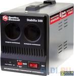 Стабилизатор QE Stabilia 500 однофазный, цифровой 220В 500ВА вх.:140-270В
