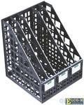 Лоток для бумаг, вертикальный, сборный, 5 отделений, черный ЛТ85