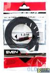 Кабель Sven HDMI 19M-19M V1.3 Flat,1.8M