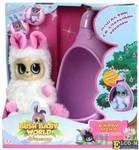 Интерактивная мягкая игрушка Bush Baby Соня 17 см розовый белый искусственный мех пластик текстиль Т