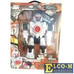 Боевой робот 1Toy Звездный защитник 26 см двигающийся на радиоуправлении со звуком светящийся Т59068